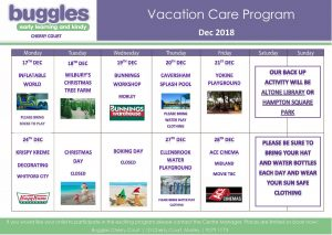 Buggles Cherry Court in Morley - Vacation Care Program - Before & After School Day Care