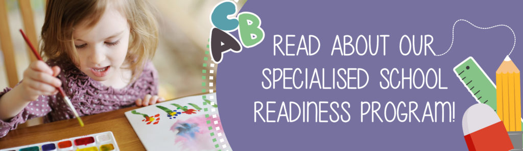 Read about our Specialised School Readiness Program!