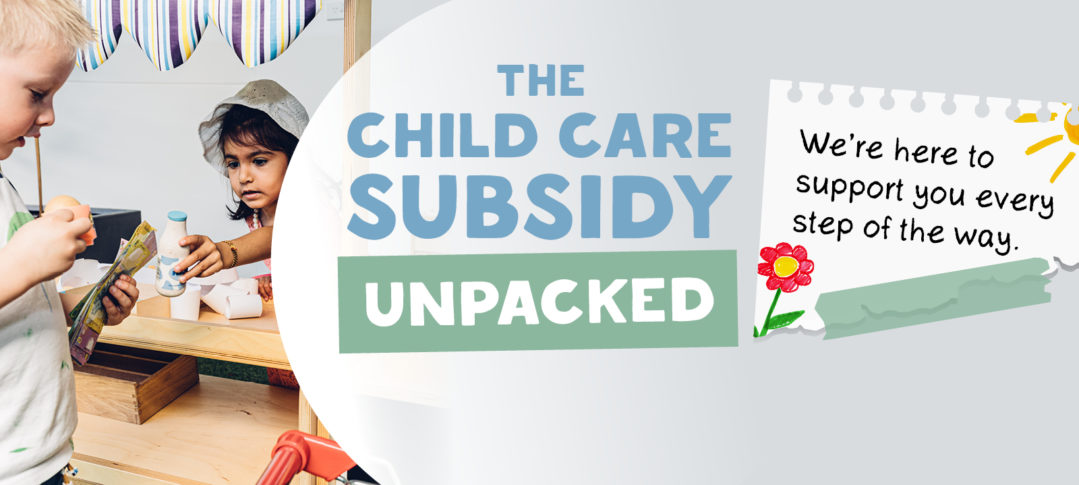 the child care subsidy