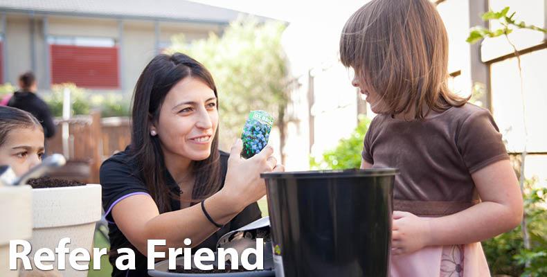 Refer a friend - Header - CB